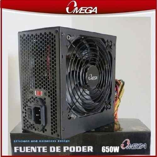 Fuente De Poder Omega Atx 650w Usada
