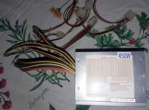 Fuente De Poder Para Pc 450 Watts