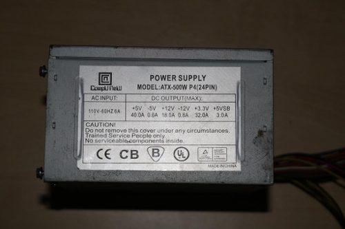 Fuente De Poder Para Pc De 500w