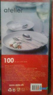Juego de cubiertos AIDA 100 piezas