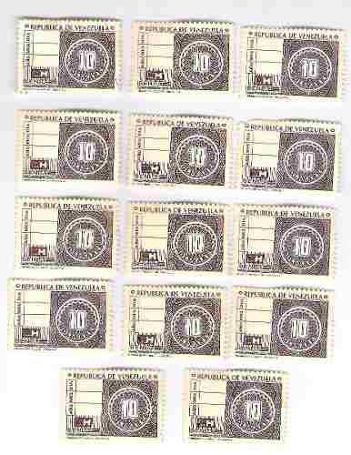 Timbres Fiscales De 10 Bolívares