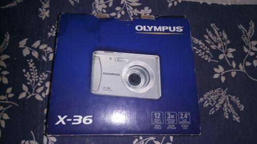 Camara Digital Olympus Modelo X-36 Con Memoria 2gb (30v)