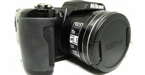 Nikon Coolpix L Pilas Y Tarjeta De Memoria De 2gb(100$)