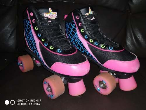 Patines De 4 Ruedas Marca Candy Skates Talla 37