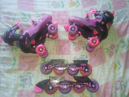Patines Roller Derby (2 En 1)