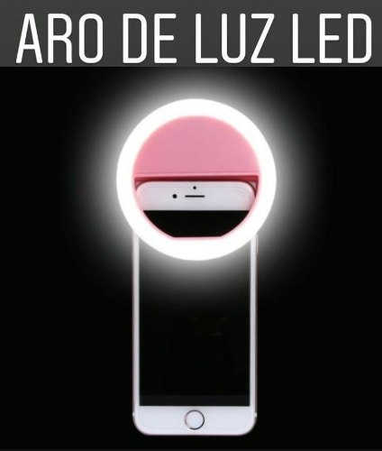 Aro De Luz Para Selfies Y Otros