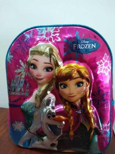 Bolso Morral Escolar Niñas, Frozen, Sofia