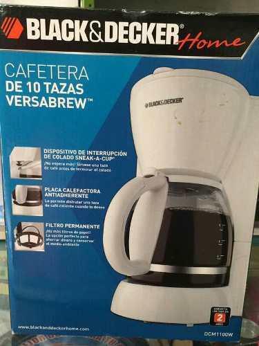Cafetera Black And Decker 10 Tazas