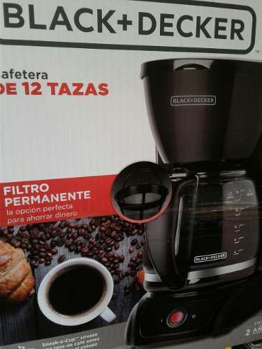 Cafetera Black & Decker Con Filtro Permanente Cm1201