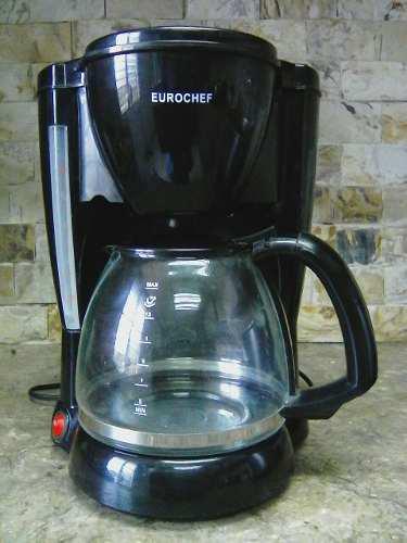 Cafetera Electrica 12 Tazas Marca Eurochef + Regalo (filtro)