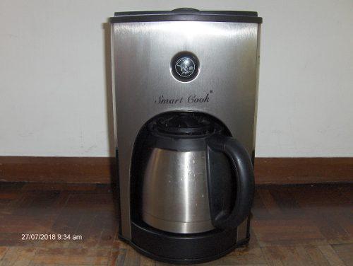 Cafetera Electrica Smart Cook Con Vaso Acero Inox