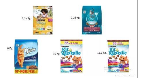 Comida Para Gatos Kitten Chow One 9 Lives Kit & Kaboodle
