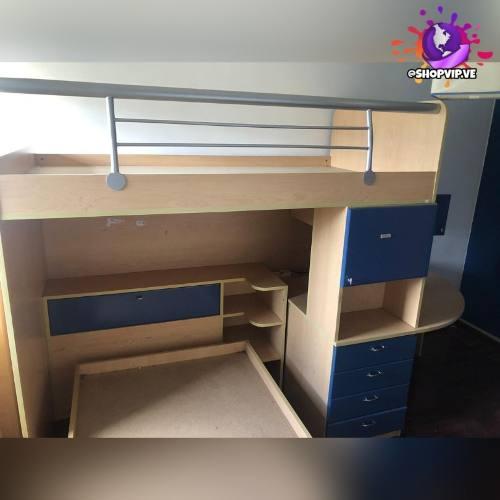 Juego De Cuarto Dormitorio Juvenil Usado