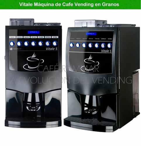 Maquina De Cafe Vending En Granos Vitale S Azkoyen