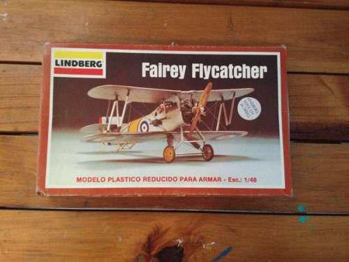 Modelismo Avion Fairey Flycatcher Escala 1/48 Lindberg 10