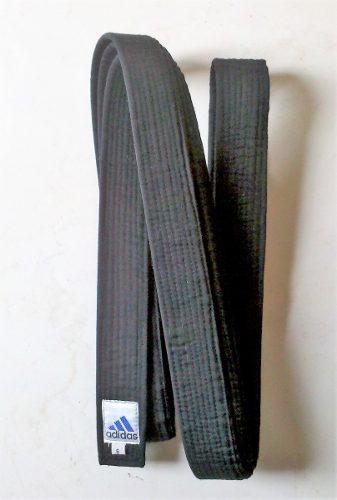 Obi Cinturon Negro Talla 6 Artes Marciales 320 Cm Aprox.