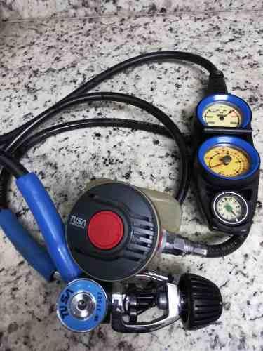 Regulador De Buceo Marca Tusa Japon/usa Completo Remate90v