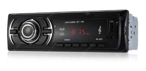 Reproductor De Carro Bluetooth Usb Aux Sd 25v