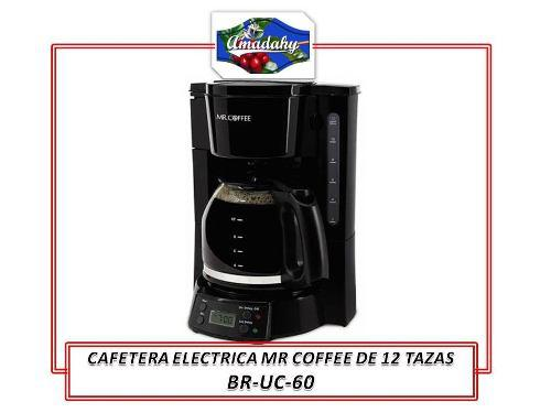 Uce302- Cafetera Programable 12 Tazas Mr Coffee, Barista