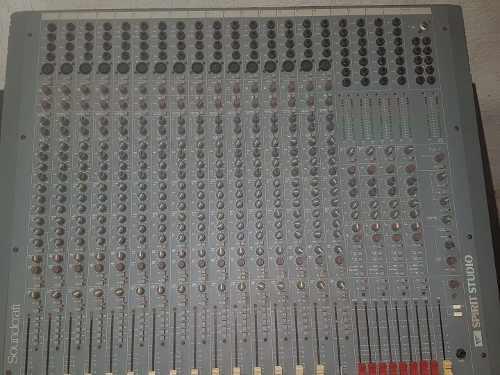 Consola De Grabación Y Pa Soundcraft 16 X8 Excelente Estado