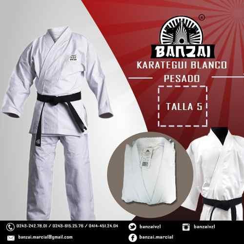 Karategui Banzai - Pesado- Talla 5 Al 6