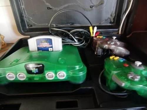 Nintendo 64 Con 2 Controle Y 1 Juego