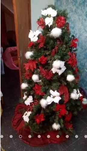 Arbolito De Navidad Con Sus Accesorios