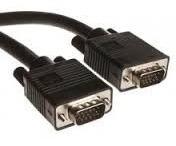 Cable Vga Macho Macho Nuevo Doble Filtro