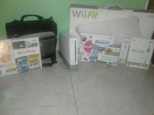 Consola Nintendo Wii Y Wii Balance + 7 Juegos Originales