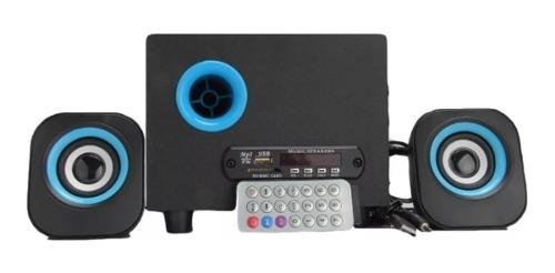 Corneta Pc 2.1 Subwofer Bluetooth Usb Msd Pc Laptop
