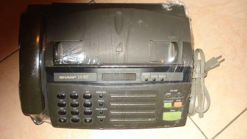 Fax Sharp Ux-107 Usado 100% Operativo