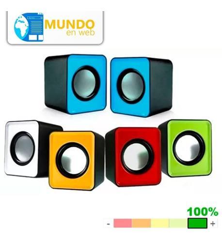Mini Cornetas Usb Portatiles Speaker 2.0 Pc Celular Laptop