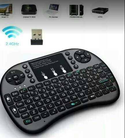Mini Teclado Bluetooth Portátil Tv Pc Keyboard