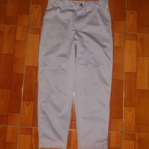 Mono O Pantalón De Béisbol Gris Talla 12 Marca Flash Sport