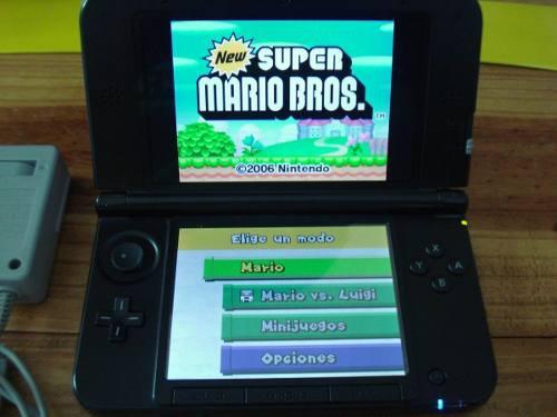 Nintendo 3ds Xl Con R4 8gb De Full Juegos