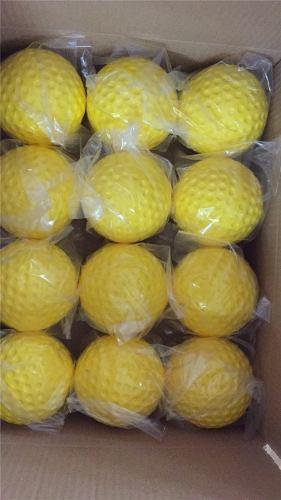 Pelotas Para Maquinas De Bateo Beisbol De Hoyuelos Amarilla