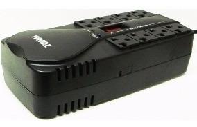 Regulador De Voltaje Para Computadoras 8 Tomas Pc- Avr