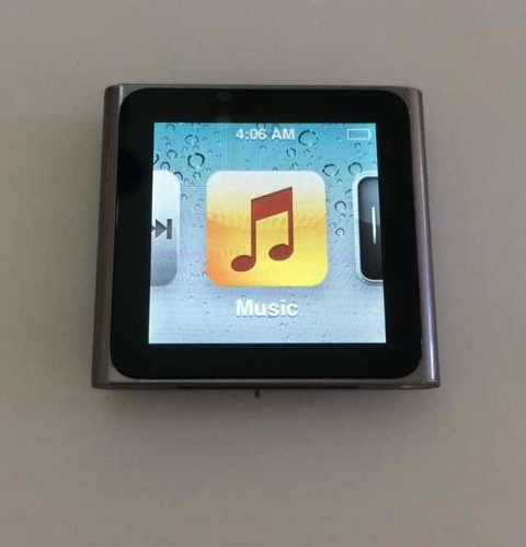 iPod Nano 6ta Generación Silver 16gb