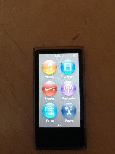 iPod Nano 7ma Generación De 16gb. Con Cable Usb Y Cargador
