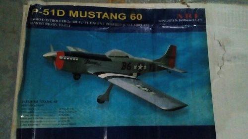 Avión Aeromodelismo P-51 D