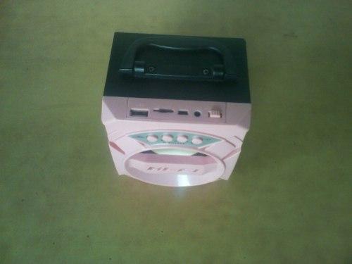 Cornetas Portátil Bluetooth,usb, Radio Fm,memoria Sd