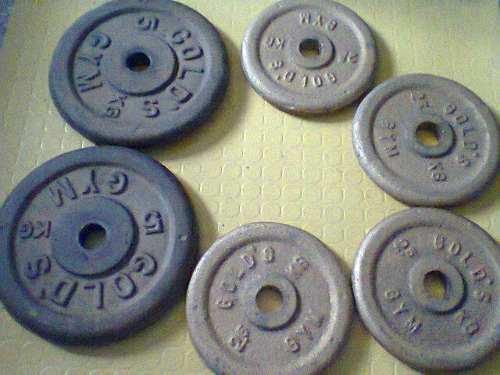 Discos De Pesas 20kg Variados