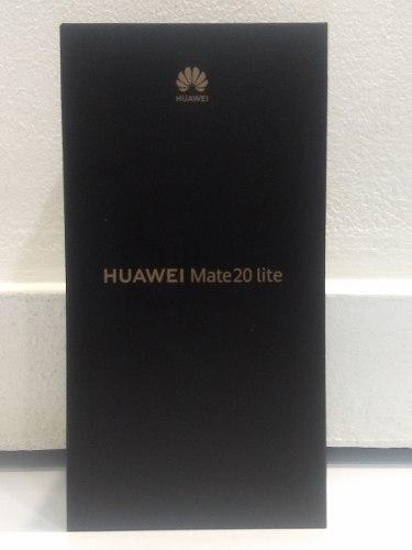 Huawei Mate 20 Lite 4gb 64gb. Nuevo (290v)