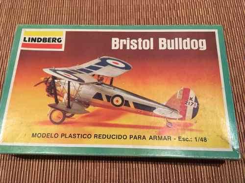 Modelismo Avion Bristol Bulldog Escala 1/48 Lindberg 7
