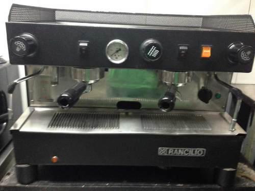 Máquina De Caffe Rancilio 2 Grupos Como Nueva