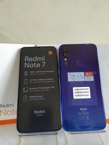 Redmi Note 7 Nuevo Dual 4 Ram 64gb Cámara 48 Mgpx (195