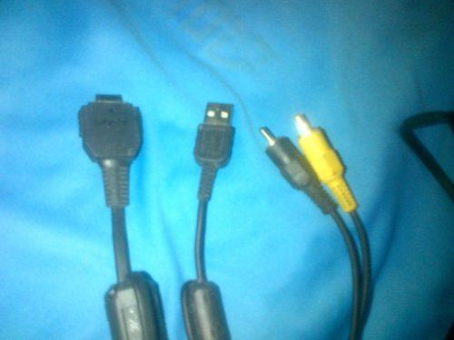 Cable Usb Audio Video Para Camara Digital Sony