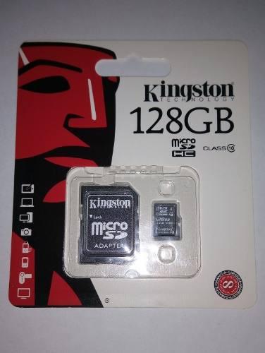 Memoria Micro Sd Kingston 128 Gb Clase 10 Tienda Chacao