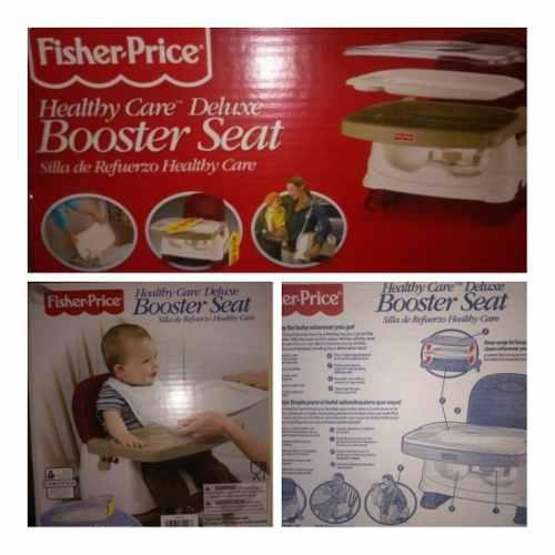 Silla De Comer Ajustable Para Niños Fisher Price