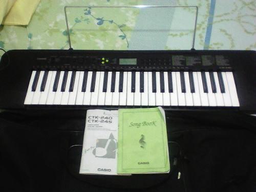 Teclado Casio Ctk 245 Con Paral